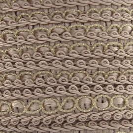 Galon robe 13mm beige clair