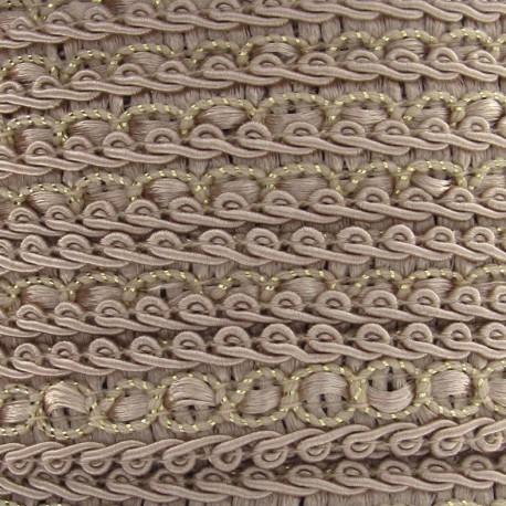 Dress braid trimming ribbon 13 mm - light beige