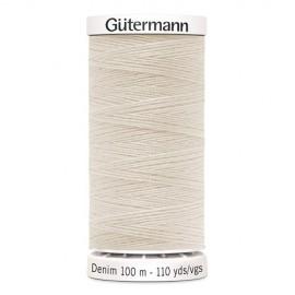 Jeans thread Gutermann 100 m - N°3130