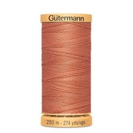 Bobine de Fil à coudre coton naturel Gutermann 250m - N°2045