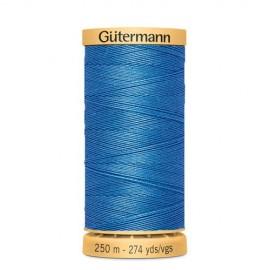 Bobine de Fil à coudre coton naturel Gutermann 250m - N°7280