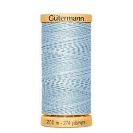 Bobine de Fil à coudre coton naturel Gutermann 250m - N°6617