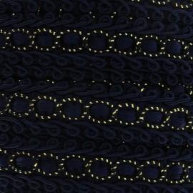 Galon robe 13mm bleu nuit