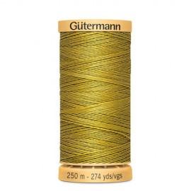 Bobine de Fil à coudre coton naturel Gutermann 250m - N°956
