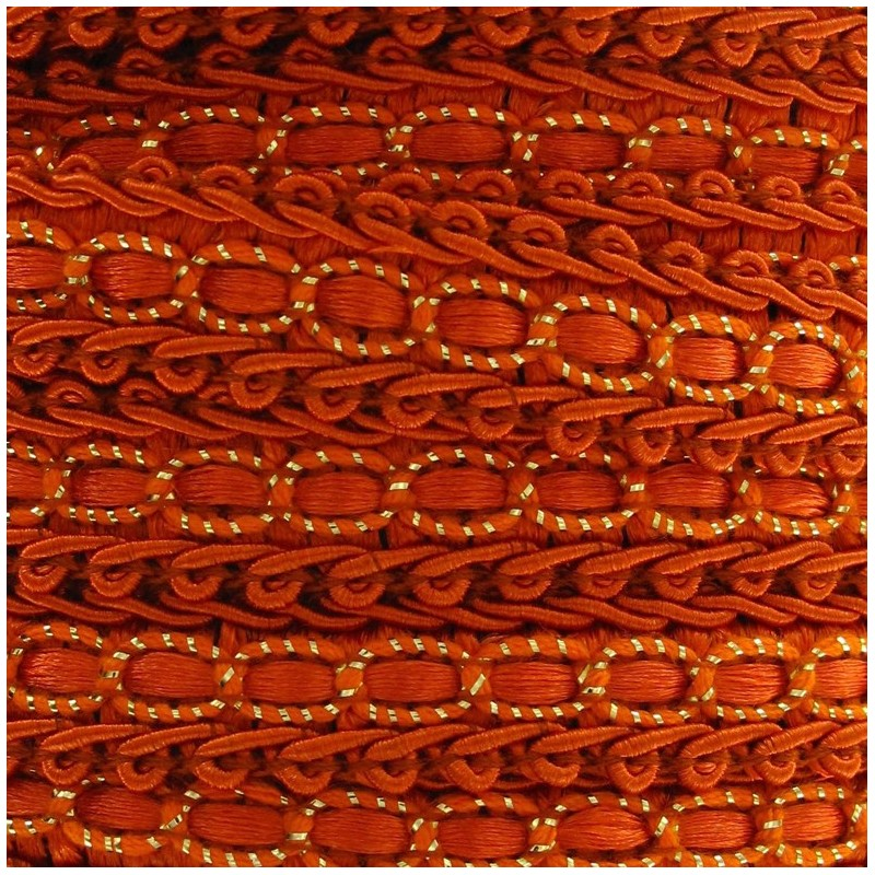 galon robe 13mm orange ma petite mercerie. Black Bedroom Furniture Sets. Home Design Ideas