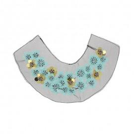 Collar jewels - light blue Florina