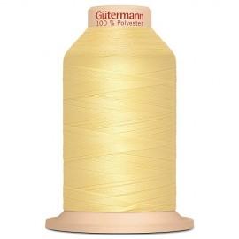 Cône fil à surjeter Gütermann Tera 2000 m - jaune