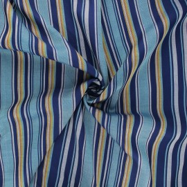 Lurex rayon fabric - blue Graffi x 10cm