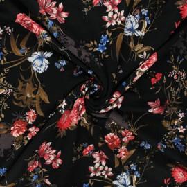 Tissu jersey viscose Sigma - noir x 10 cm