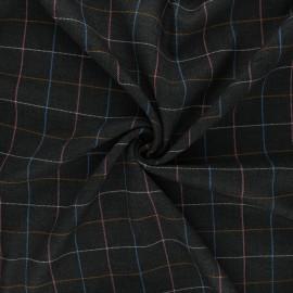 Polyviscose elastane fabric - grey Hespel x 10cm