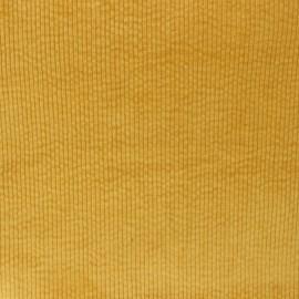 Tissu velours côtelé washé Cardiff - ocre x 10cm
