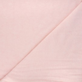 Light knitted fabric - mottled light pink Loubna x 10cm