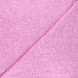 Light knitted fabric - mottled purple Loubna x 10cm
