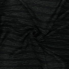 Tissu tulle plissé lurex Crazy for you - vert x 10cm