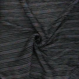 Lurex pleated tulle fabric - multicolor Crazy for you x 10cm