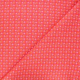 Tissu coton Petit Pan Cereal - tangerine x 10cm