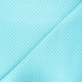 Petit Pan cotton fabric - azur Chifoumi x 10cm