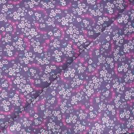 Petit Pan cotton fabric - lilac Hanako x 10cm