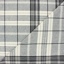 Tissu toile coton matelas - rouge x 10cm