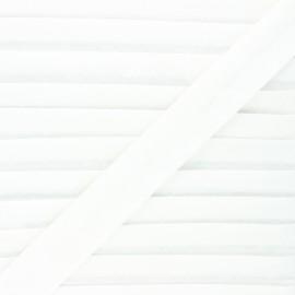 Biais lin - écru - Bobine de 20 m