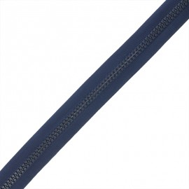 Zip by the meter without sliders - navy blue Grand classic