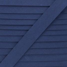 Linen bias binding roll - navy blue