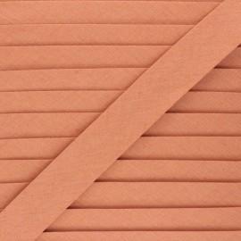 Linen bias binding roll - rust