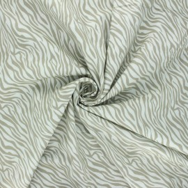 Tissu popeline de coton Zaiana - opaline x 10cm