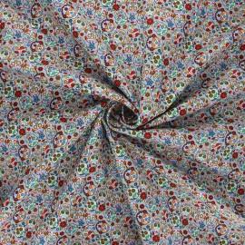 Poplin cotton fabric - grey Mini calaveras x 10cm