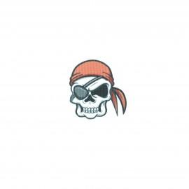 Thermocollant - Crâne de pirate