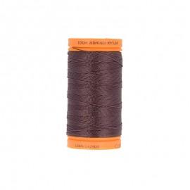 Bobine de fil à coudre nylon plein air 135m - N°568 - marron acajou