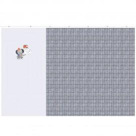 Panel jersey fabric - Firefighter baby x 100 cm