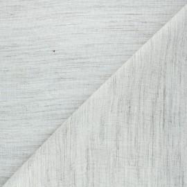 Horsehair viscose fabric - natural x 10cm