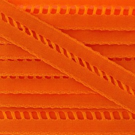 ♥ Coupon 290 cm ♥ Lace insert ribbon 15 mm - orange