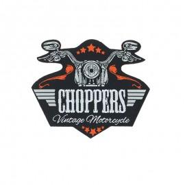 Thermocollant blason Biker life - Choppers
