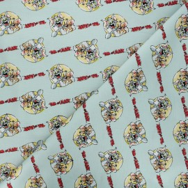 Cotton Camelot fabrics - opaline Tom and Jerry together x 10cm