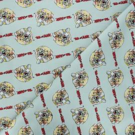 Tissu coton Camelot Fabrics Tom and Jerry together - opaline x 10cm
