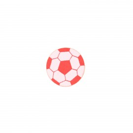 Iron-on patch Sports - red Football