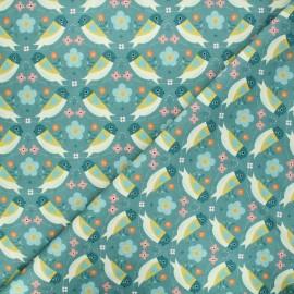 Tissu coton Dashwood Studio Hedgerow - Birdy x 10cm