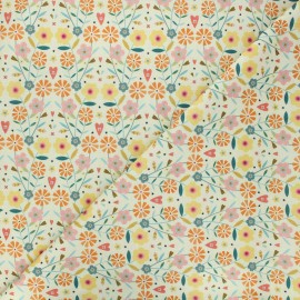 Tissu coton Dashwood Studio Hedgerow - Sunny flowers x 10cm