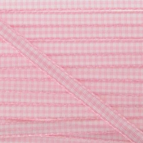 Little Gingham Ribbon 5mm - Pink