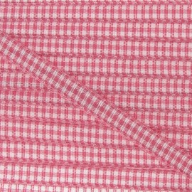 Little Gingham Ribbon 5mm - old rose
