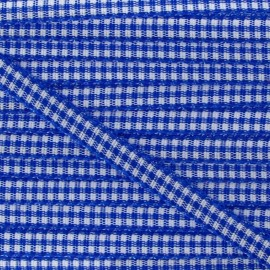 Little Gingham Ribbon 5mm - Royal Blue