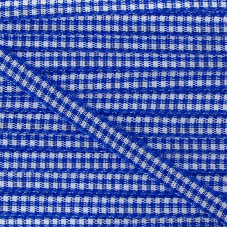 Little Gingham Ribbon 5mm - Royal Blue