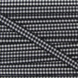 Little Gingham Ribbon 5mm - Black