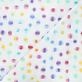 Andover Fabrics cotton fabric - white Highline x 10cm