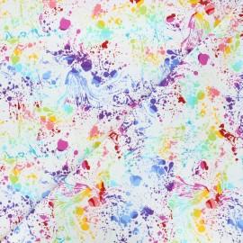 Tissu coton Andover Fabrics Venom - blanc x 10cm
