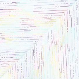Tissu coton Andover Fabrics Birch - blanc x 10cm