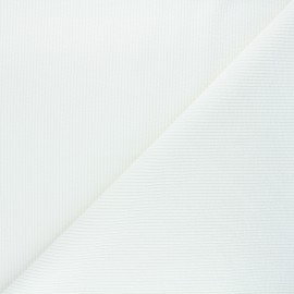 Tissu velours côtelé washé Jules - écru x 10cm