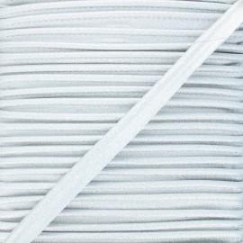 Passepoil lurex 8 mm - argent x 1m